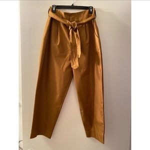 Kate spade modern twill pant toffee size 10 NWT